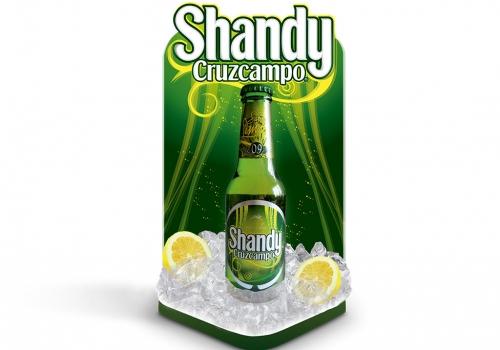 Expositor Shandy Cruzcampo