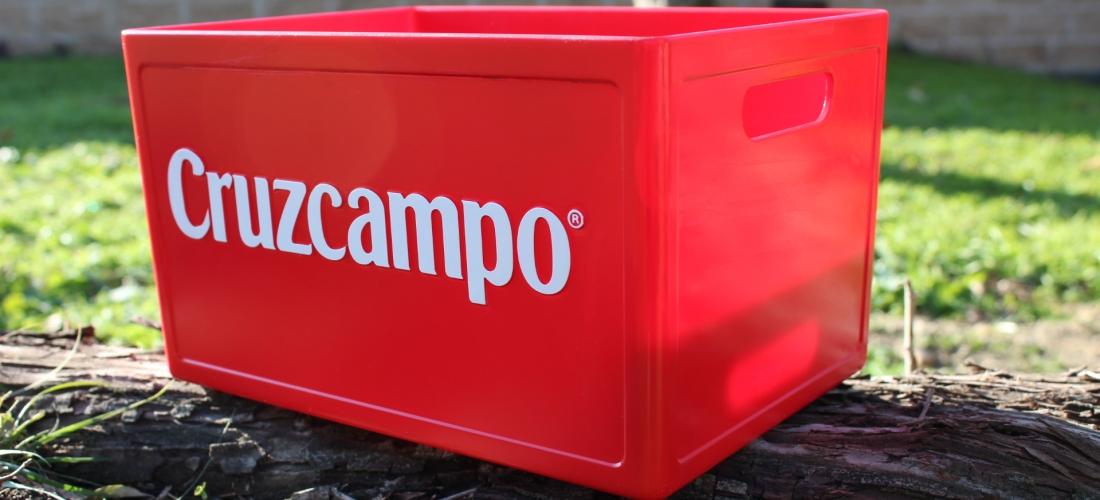 Caja botellas Cruzcampo